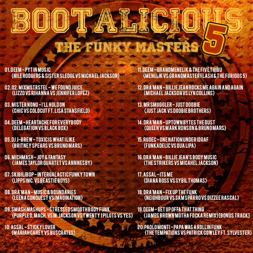 Bootalicious - The Funky Masters #5